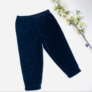 Gymboree girls blue velvet pants winter pants NWT
